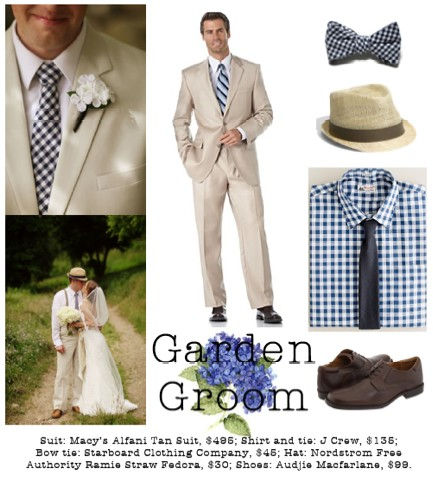 A breezy linen or lightweight cotton makes a Summer wedding a whole lot less